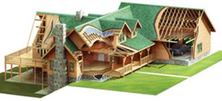 morningdale log homes finish materials package