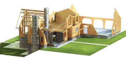 morningdale log homes, log and timber package
