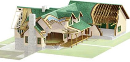 morningdale log homes, weather tight package