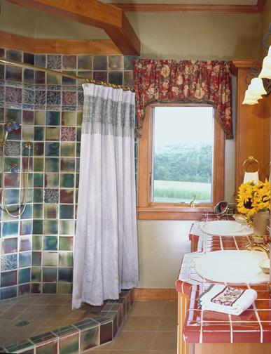 morningdale log homes, Andrews_bathroom