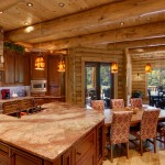 morningdale log homes, Barth-Log-Home-KitDin-1