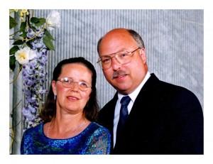 Kathy and Art Hoffman Co-Owners of Morningdale Log Homes, LLC.