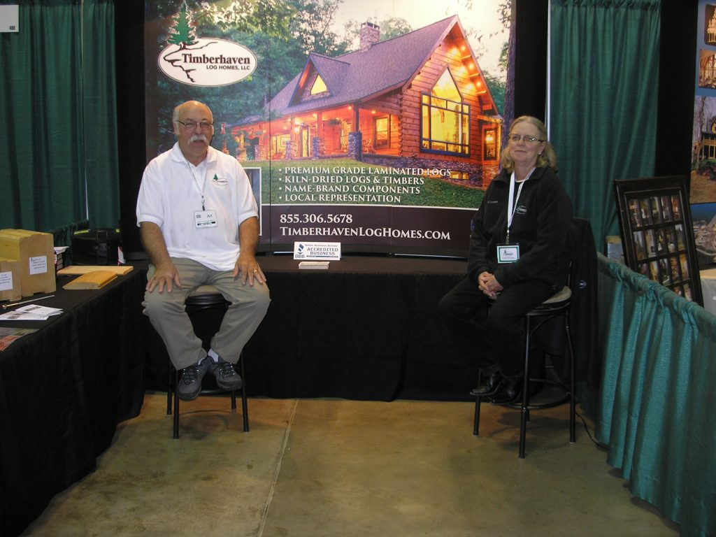 Log & Timber Home Show Akron, OH October 14-16, 2016