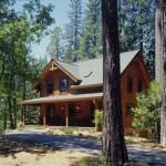Morningdale Log Homes, log home exteriors, dovetail corners