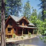 Morningdale Log Homes, log home exteriors,beck, california