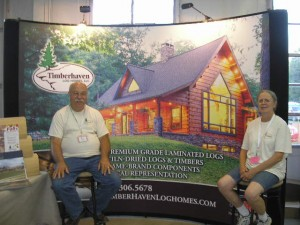 Booth at 2014 Crawford County Fair