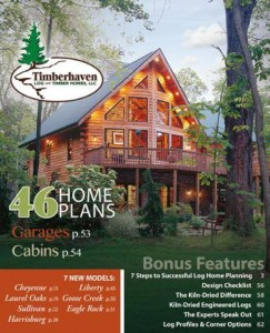 NEW Timberhaven Log and Timber Homes Catalog