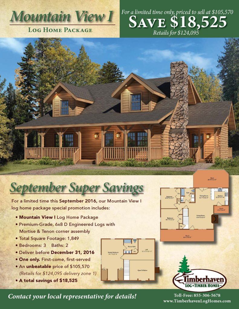 Sept. 2016 Special Offer