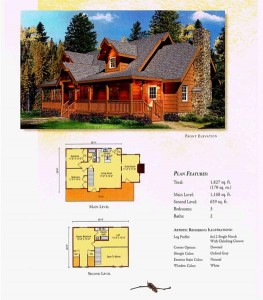 Morningdale Log Homes LLC floor plans - Swatara