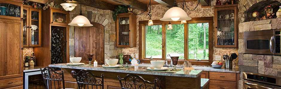 morningdale log homes log home kitchen