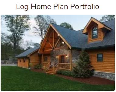 log home plan portfolio