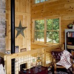 morningdale log homes, log home balcony