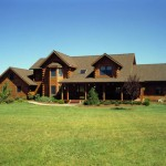 Morningdale Log Homes, log home exteriors, in new jersey