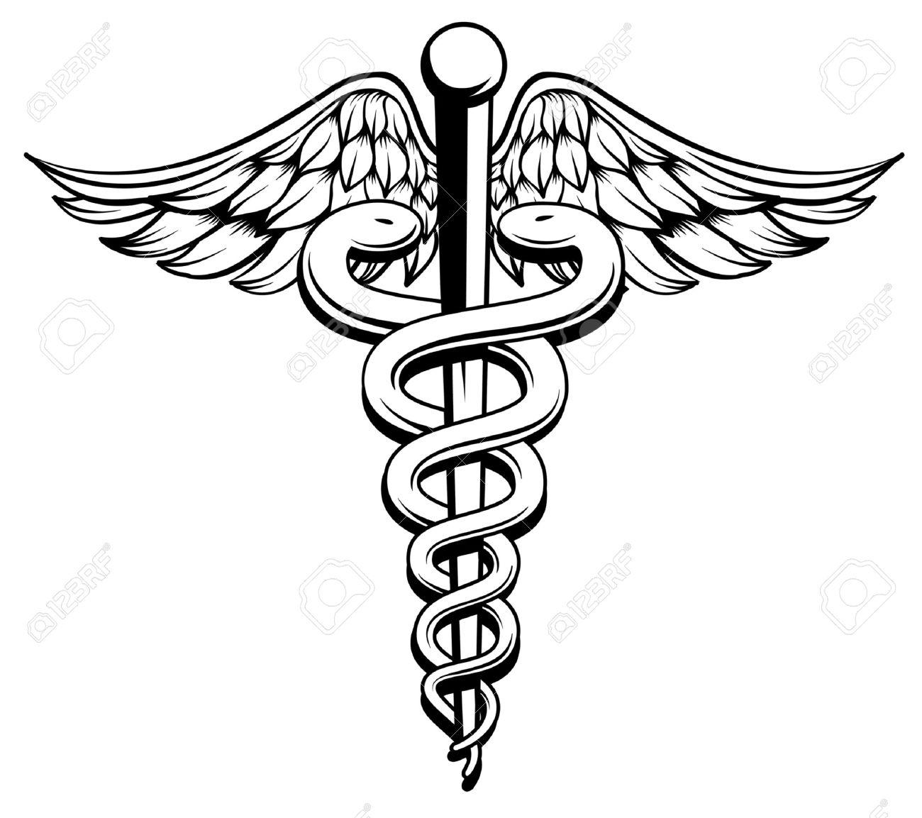 Medical Snake Clipart